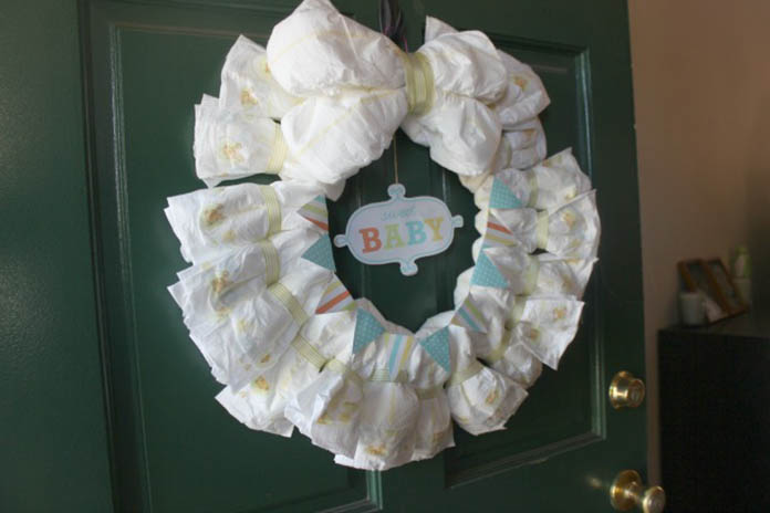 En güzel bebek kapı süsü nasıl yapılır?